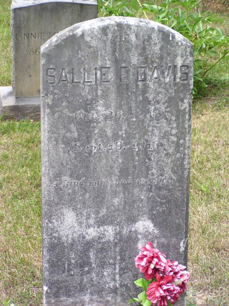 Sallie R Davis