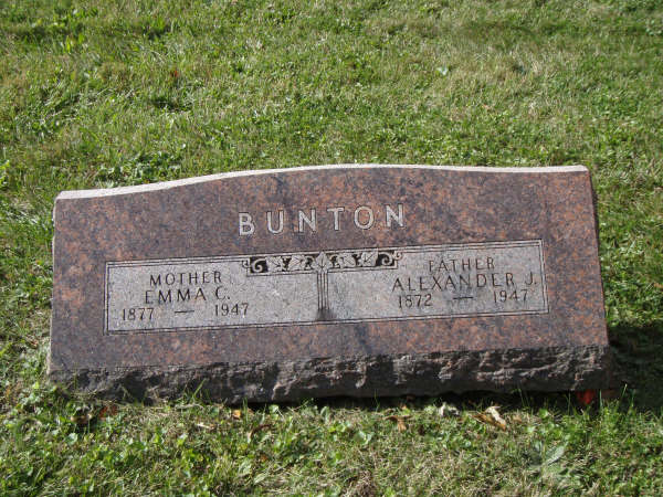 Emma Caroline <i>Busch</i> Bunton