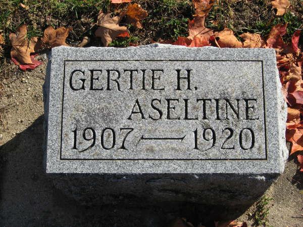 Gertrude H Gertie Aseltine