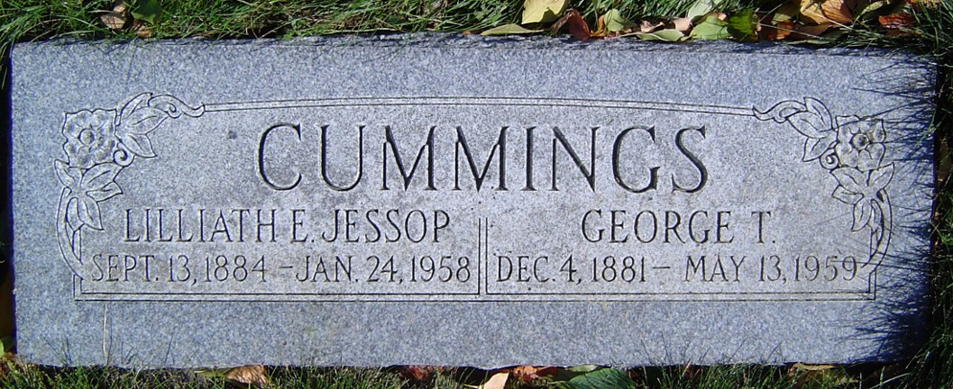 Lilliath Ethel <i>Jessop</i> Cummings