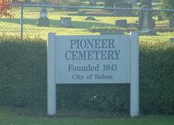 Salem Pioneer Cemetery