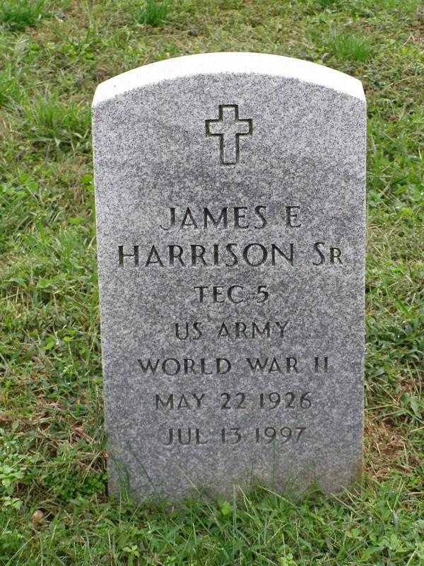 James E Harrison, Sr