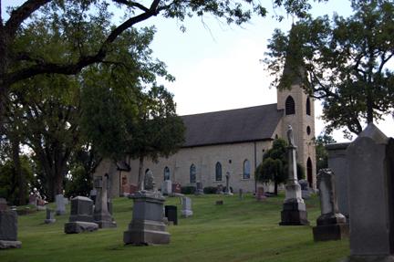 Saint James at Sag Bridge Church Cemetery