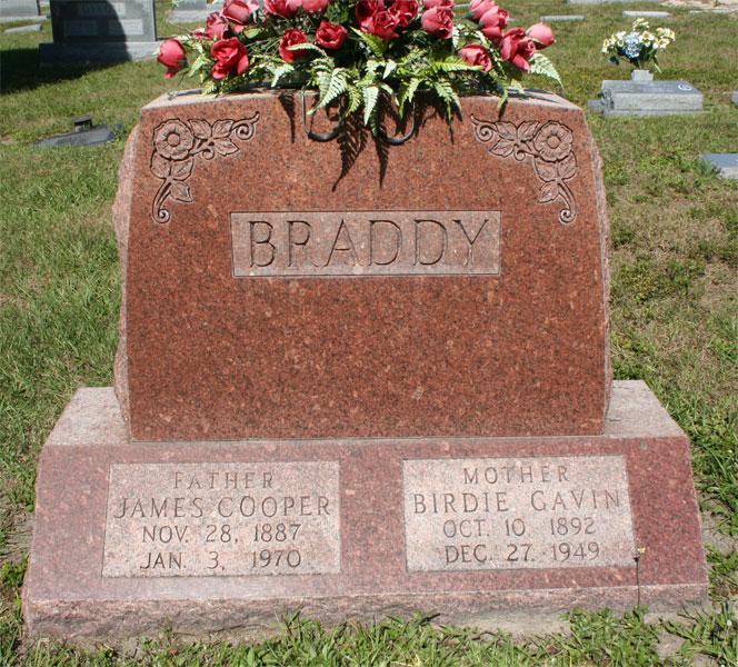 Birdie <i>Gavin</i> Braddy