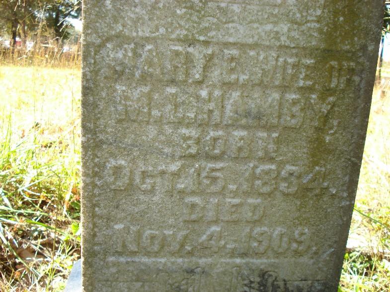 Mary Ellen <i>Daniell</i> Hamby