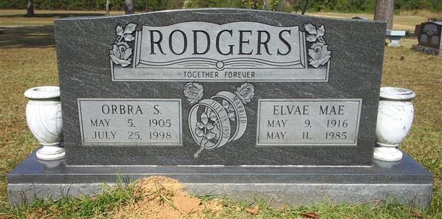 Elvae Mae <i>Gray</i> Rodgers
