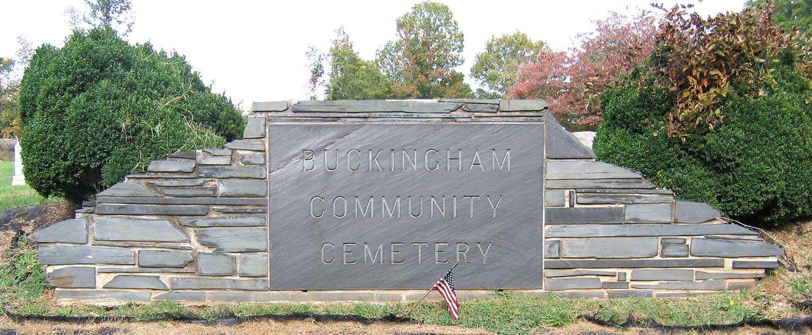 Buckingham Community Cemetery