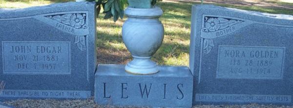 Nora Bell <i>Golden</i> Lewis