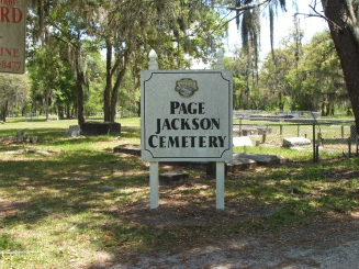 Page Jackson Cemetery, Sanford, FL.