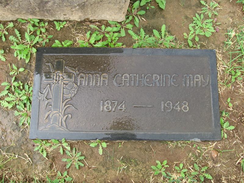 Anna Catherine <i>Niemeyer</i> May