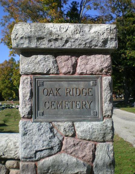 Oak Ridge Cemetery