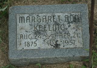 Margaret Ann Mag <i>Smith</i> Keeling