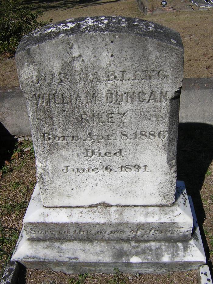 William Duncan Willie Riley