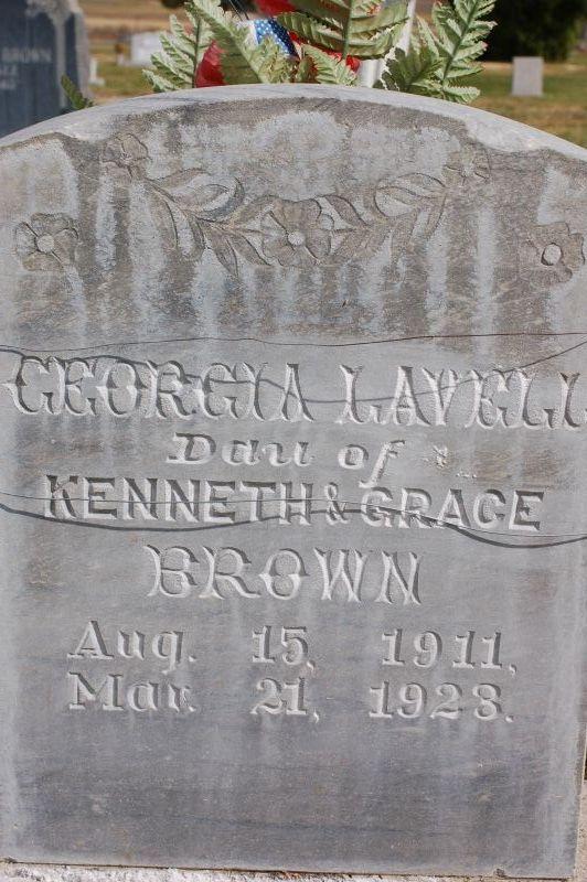 Georgia Lavell Brown