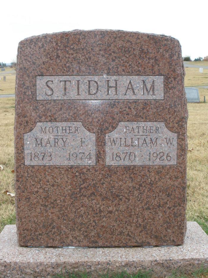 Mary Frances <i>Stone</i> Stidham
