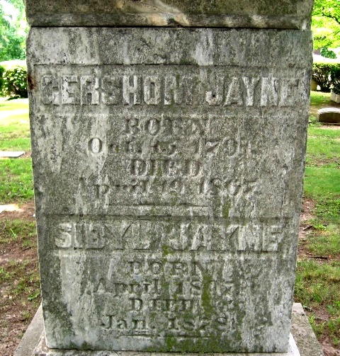 Sibyl <i>Slater</i> Jayne