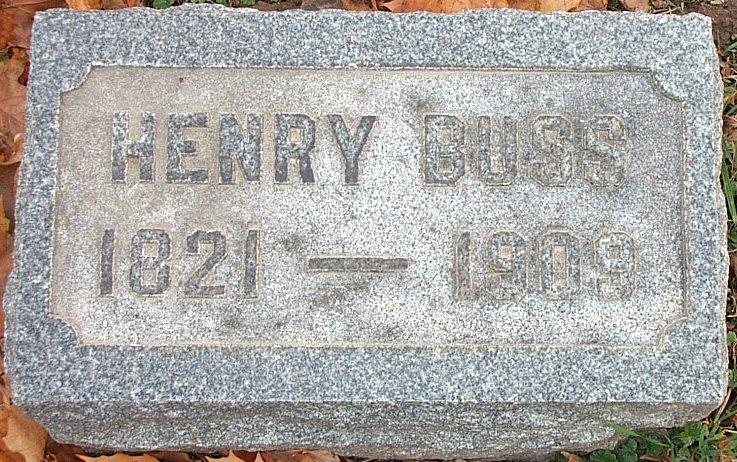 Rev Henry Buss