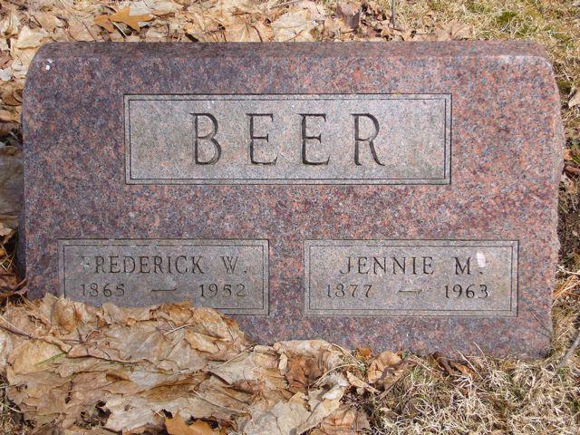Jennie M. <i>Tucker</i> Beer