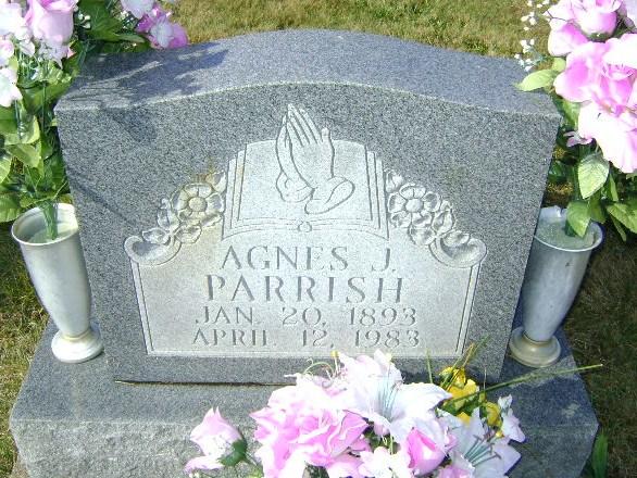 Agnes Lura <i>Jennings</i> Parrish