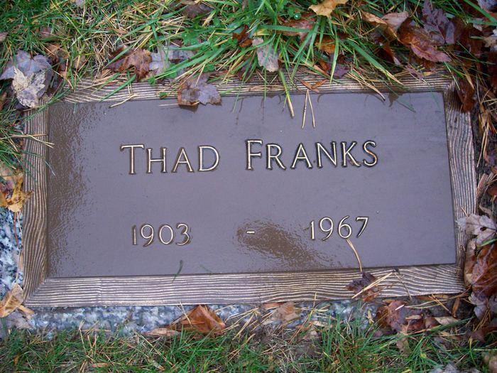 Thad T-Bone Franks
