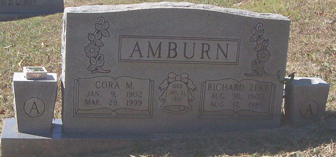Cora M. <i>Crisp</i> Amburn