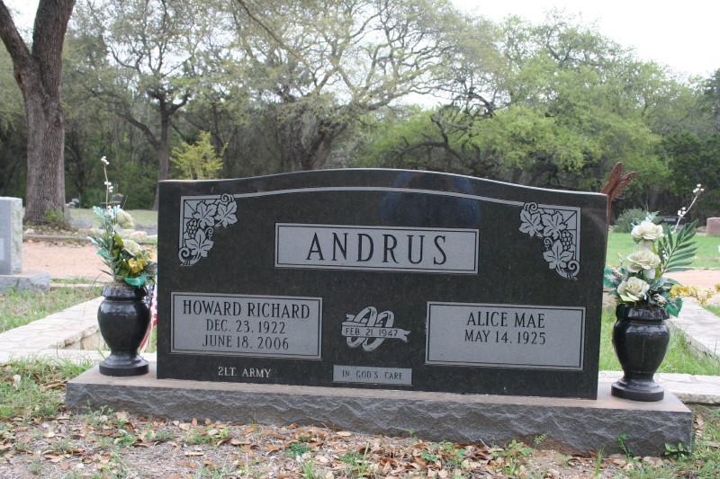 Howard Richard Andrus