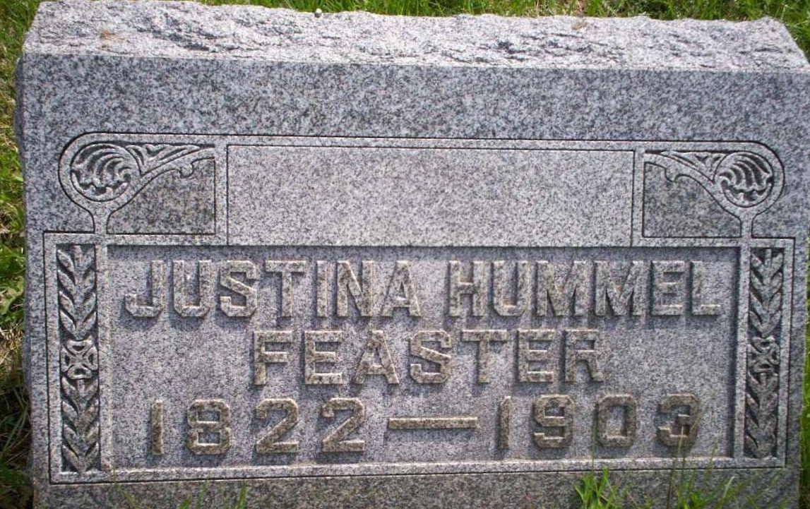 Justina <i>Hummel</i> Feaster