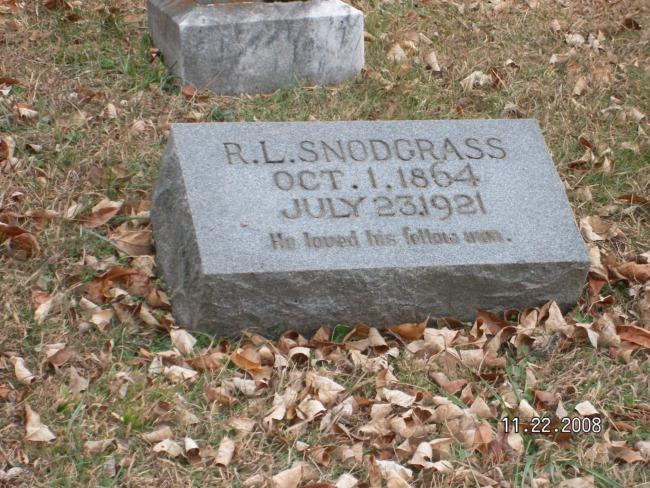 Robert Lee Snodgrass
