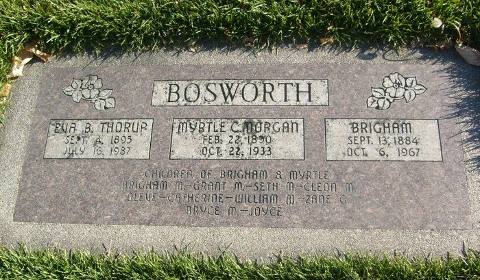 Myrtle Catherine <i>Morgan</i> Bosworth