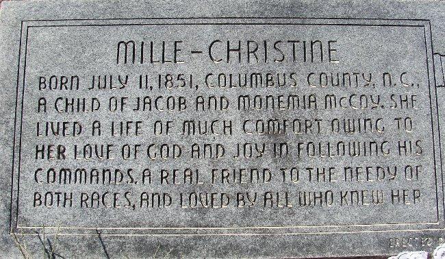Millie Christine McCoy