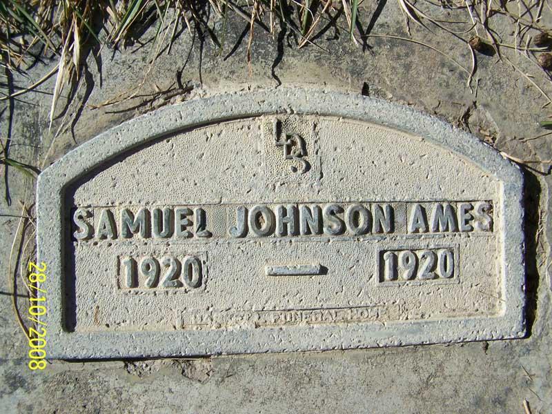 Samuel Johnson Ames