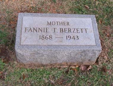 Fannie <i>Tucker</i> Berzett