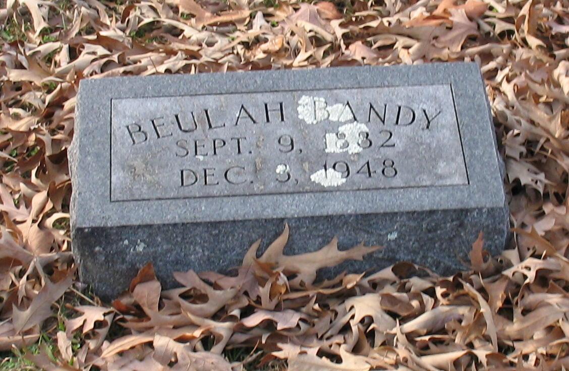 Beulah <i>Ross</i> Bandy