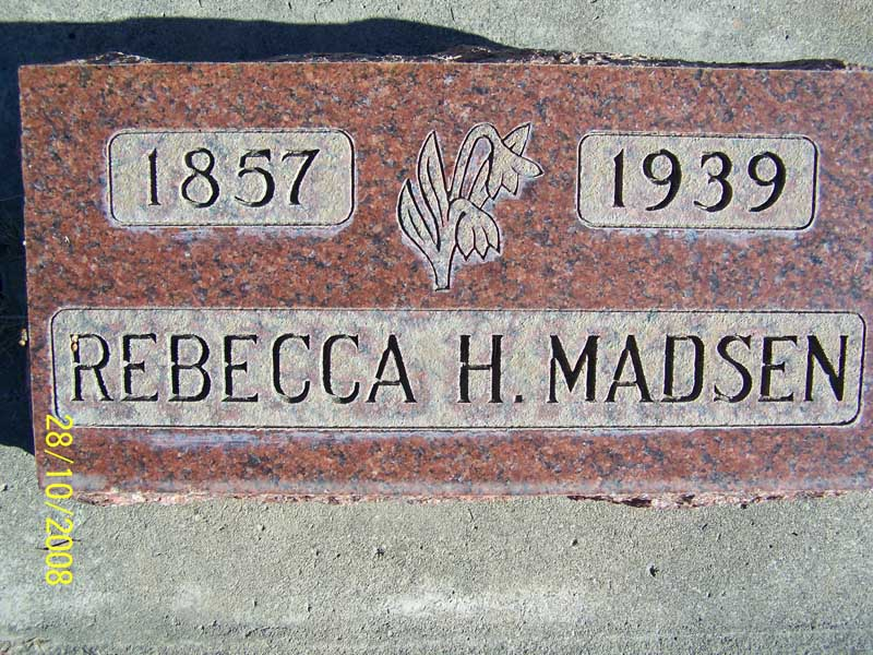 Hannah Rebecca <i>Bake</i> Madsen