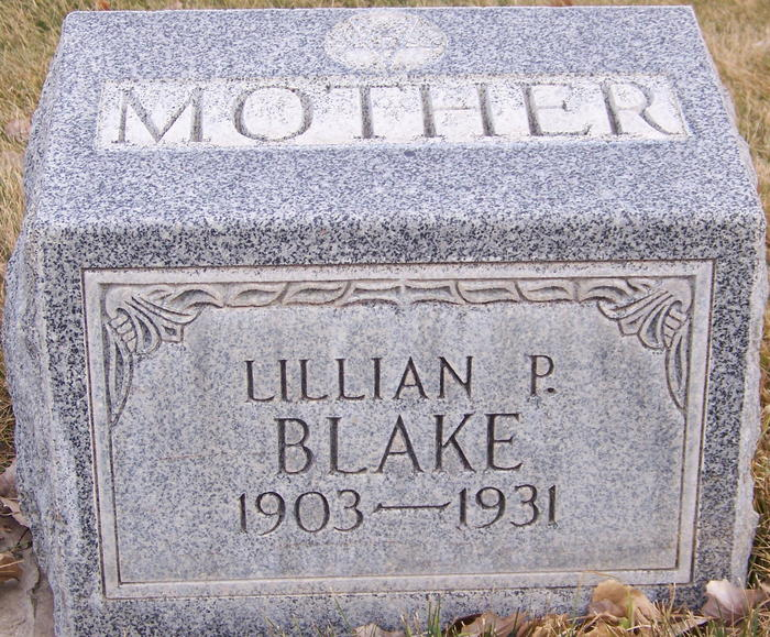 Lillian Pearl <i>Taylor</i> Blake
