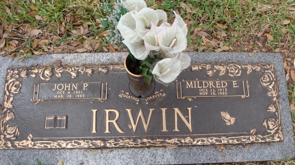 Mildred E <i>Selvidge</i> Irwin