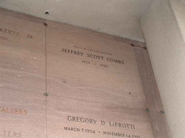 Jeffrey Scott Combs