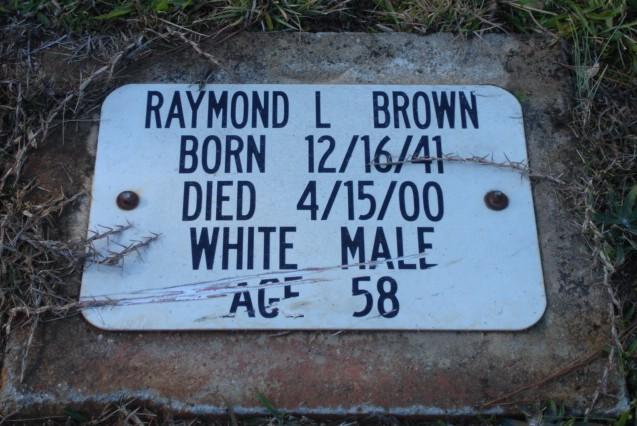 Raymond Lawrence Browne
