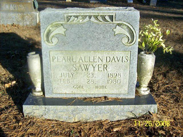 Pearl <i>Allen</i> Davis Sawyer