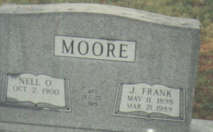 John Frances Marion Frank Moore