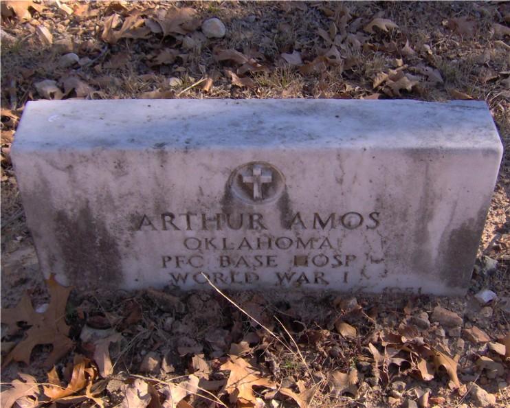 PFC Charles Arthur Amos