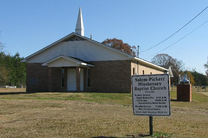 Salem-Pickett Missionary Baptist Church Cemetery