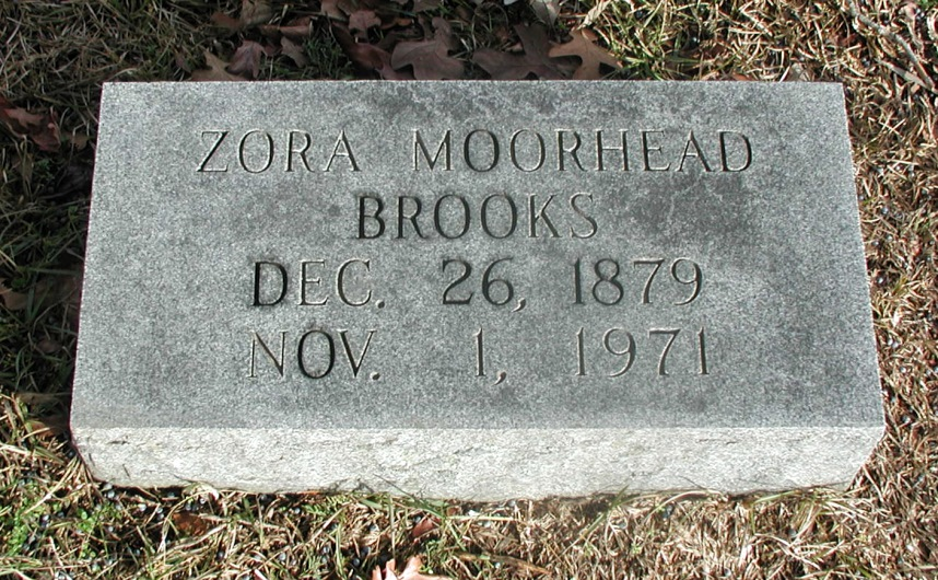 Zora <i>Moorehead</i> Brooks