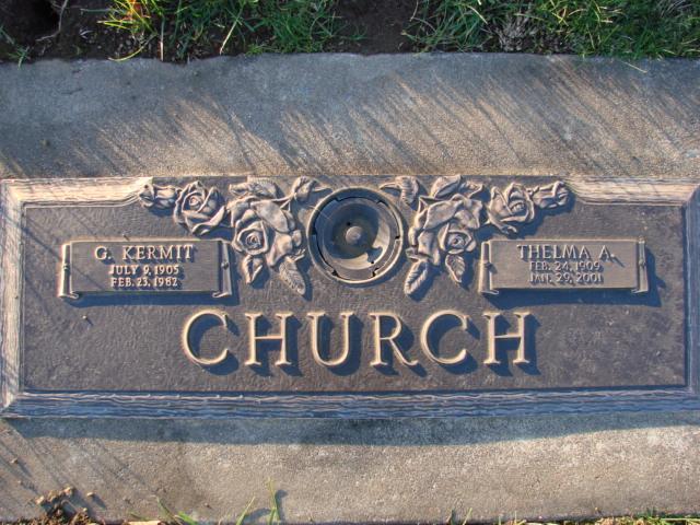 Thelma A. <i>Shaffer</i> Church