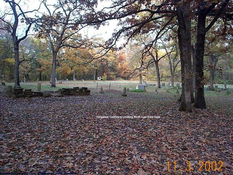 Delaware Indian Cemetery