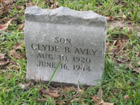 Clyde B Avey