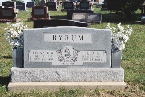 Leonard William Byrum