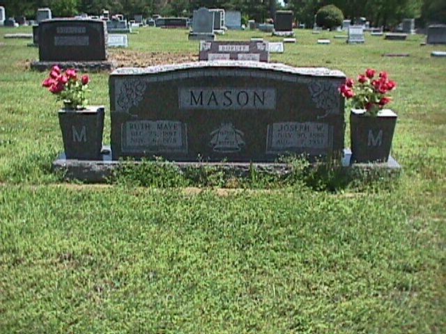 Ruth Maye <i>Lingle</i> Mason