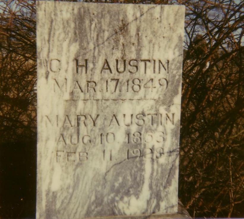 Mary Arminta Mittie <i>Choate</i> Austin