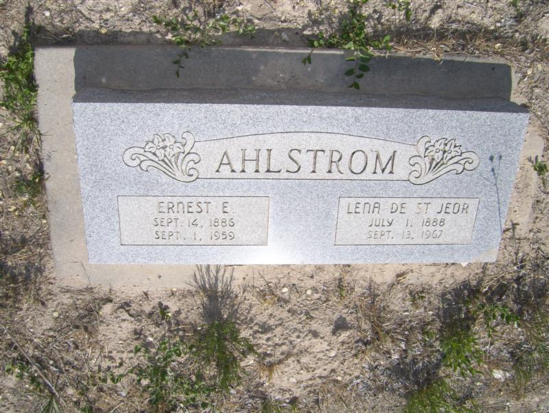Earnest E Ahlstrom